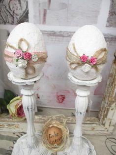Osterei Ei Shabby weiß Handmade Rosen Knöpfe Nostalgie Vintage Ostern Deko | Möbel & Wohnen, Feste & Besondere Anlässe, Jahreszeitliche Dekoration | eBay!