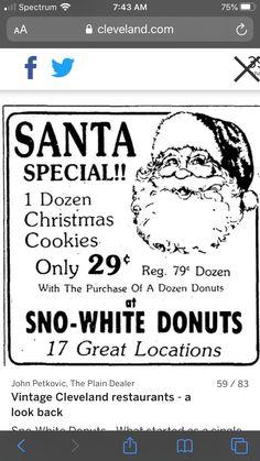 Cleveland Restaurants, Dozen Donuts, Petkovic, Parma, Looking Back, Christmas Cookies, Xmas Cookies, Christmas Crack, Christmas Biscuits