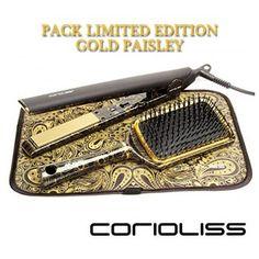 "PLANCHA CORIOLISS  C1 ""KIT GOLD PAISLEY"""
