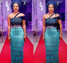 Gorgeous Ankara Asoebi Styling with Modern Outfits - Reny styles