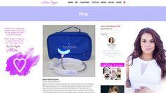TV/Film Actress website design Graphics, Wordpress set up + theme customization http://www.alisareyes.com