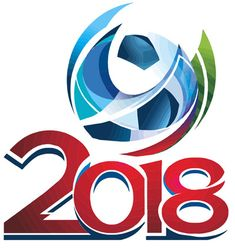 This is the official bidding logo of the 2018 FIFA World Cup. The interim mark was unveiled in March 2012 and incorporates the FIFA World Cup Trophy. Brazil World Cup, World Cup Russia 2018, World Cup 2014, Fifa World Cup, Soccer World, Soccer Fans, Soccer Stuff, Football Soccer, World Cup Logo
