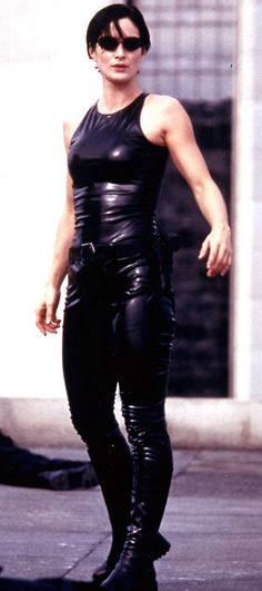 The Matrix - Carrie-Anne Moss - Trinity: