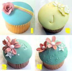 Cupcake Pictures | Cupcake Fever : wedding cake cupcakes oahu Cupcake02 cupcakes