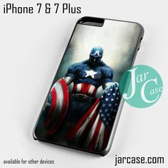 Captain America Art YD Phone case for iPhone 7 and 7 Plus