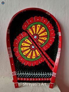 Art N Craft, Diy Art, Bengali Art, Indian Wall Art, Kerala Mural Painting, African Art Paintings, Pottery Painting Designs, Madhubani Art, Diy Canvas Art