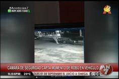 Cámara De Vigilancia Capta A Un Delincuente Robando En Un Vehículo