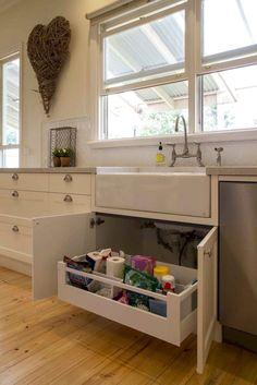 Gray Kitchen Cabinet Organiztion Ideas (67) - CLICK PIC for Many Kitchen Cabinet Ideas. #kitchencabinets #kitchenorganization