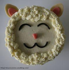SPONGE CAKE A LA VANILLE ET SA GANACHE MONTEE A LA VANILLE (de Cyril Lignac)