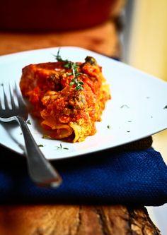 lasagna with a healthy twist
