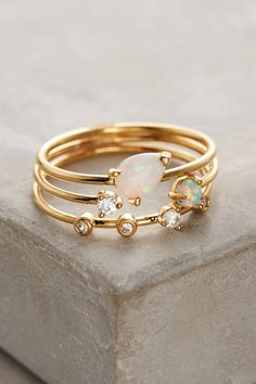 Shop the Opalescent Stacking Rings and more Anthropologie at Anthropologie today. Read customer reviews, discover product details and more.