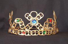 Jeweled Pop Tab Crown by Cheryl's Art Box, via Flickr
