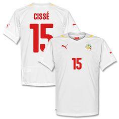 Puma Senegal Home Cissé Shirt 2014 2015 (Fan Style Senegal Home Cissé Shirt 2014 2015 (Fan Style Printing) http://www.comparestoreprices.co.uk/football-shirts/puma-senegal-home-cissã©-shirt-2014-2015-fan-style.asp