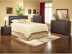 Bedroom Furniture - Oxford 3-Piece Queen Bedroom Package