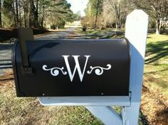 Hey, I found this really awesome Etsy listing at http://www.etsy.com/listing/111513366/monogram-mailbox-vinyl-decal