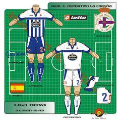 Deportivo La Coruna kits for Football Kits, Family Guy, Logo, Shirt, Fictional Characters, Soccer Kits, Soccer Equipment, Logos, Dress Shirt