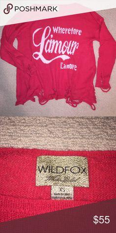 Wildfox sweater NWOT, offers welcome! Wildfox Sweaters Crew & Scoop Necks