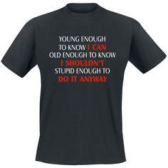 ... Enough, Do It Anyway T-shirt - SwedenRockShop