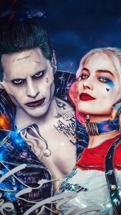 64 best Joker Harley Wallpaper pictures in the best available resolution. Harley Quinn Tattoo, Harley Quinn Et Le Joker, Harley And Joker Love, Harley Quinn Halloween, Harley Quinn Drawing, Harely Quinn And Joker, Le Joker Batman, Joker Art, Gotham Batman