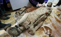 700-year-old mummy found in the city of Taizhou, in Jiangsu Province, China, by construction workers