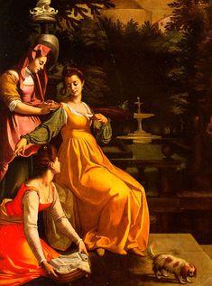 Jacopo da Empoli 1600, Susanna and the Elders. Florentine. Empoli_SusannaAndTheElders.jpg (594×800)