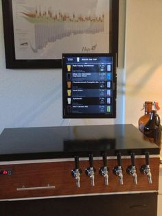 Kegerface (an interface for a Kegerator) running of a Raspberry Pi