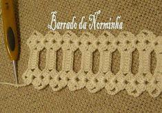 ru / Photo # 72 - Heklet grense for håndklær - Crochet Collar Pattern, Crotchet Patterns, Crochet Doilies, Crochet Lace, Crochet Stitches, Crochet Table Runner Pattern, Making 10, Projects To Try, Knitting