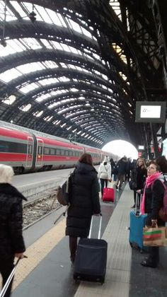 Estação ferroviária Milão / IT 31/12/2015