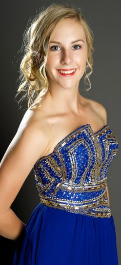 Strathallan Belle of the Ball 2014. A great alternative to the traditional sweetheart neckline! www.whitedoor.co.nz