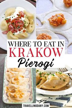Discover where to eat the best pierogi in Krakow, also if you're visiting on a budget! With easy-to-find restaurants, info on yummy Polish dishes you can try and where to drink a good pint of beer. World's Best Food, Good Food, Yummy Food, Delicious Recipes, Best Dishes, How To Eat Less, Best Places To Eat, Foodie Travel, Street Food