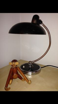 Christian Dell table lamp 30's