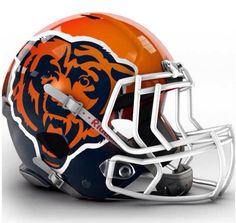 Bears prototype helmet