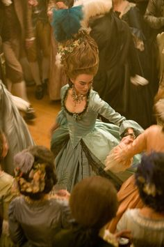 Keira Knightley as Georgiana Cavendish in The Duchess. (Costumes by Michael O'Connor)