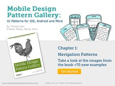 Navigation Patterns for iOS, Android and More by Theresa Neil via slideshare