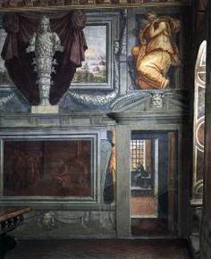 Wall Decoration, Casa del Vasari, Arezzo