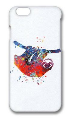 VUTTOO Sloth Poster Watercolor Polycarbonate Hard Case Protective Cell Phone Cover For Apple Iphone 6 (4.7 Inch) - PC 3D VUTTOO http://www.amazon.com/dp/B00OLP3NF4/ref=cm_sw_r_pi_dp_As9uub1A432RE