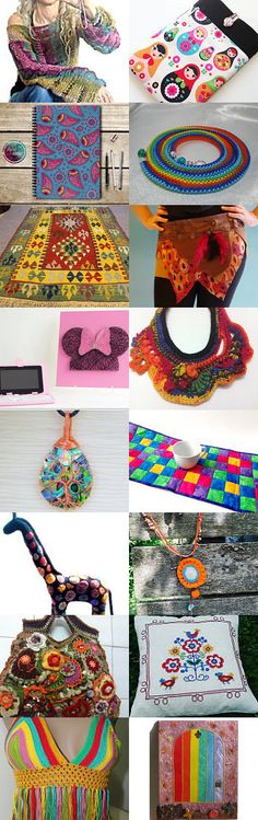 Colorful Best Trends!! by Belgin Yurtseven on Etsy--Pinned+with+TreasuryPin.com