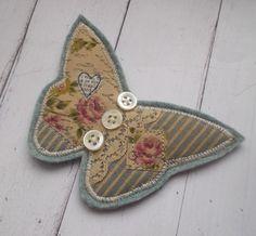 Butterfly Brooch от pantsandpaper на Etsy