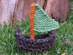 free sailboat knitting pattern