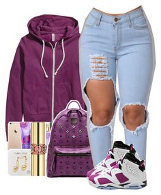 """""""Cardi B X Foreva"""" by uniquee-beauty ❤ liked on Polyvore featuring H&M, MCM and Retrò"""