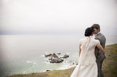 Photography by vieraphotographics.com  Read more - http://www.stylemepretty.com/2013/06/05/big-sur-wedding-from-viera-photographics/