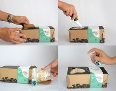 Cultive Uma Ideia - Gourmet Mushrooms on Packaging of the World - Creative Package Design Gallery