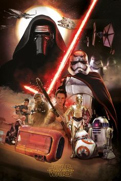 Star Wars: The Force Awakens – New Promotional Art of Kylo Ren and More.