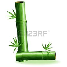 Bamboo Logo Brief Sign L photo