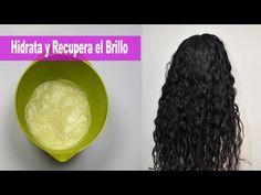Rizos & Rizos: 7 Recetas naturales para el crecimiento y evitar la caida del cabello Hair Repair, Crazy Hair, Curly Girl, Hair Growth, Curly Hair Styles, Hair Beauty, Make Up, Hairstyle, Organic