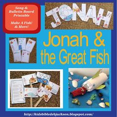Jonah and the Great Fish For Preschool (Fish, Song, Visuals & More)