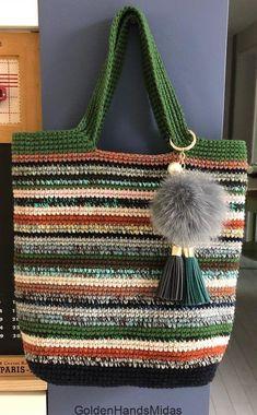 Free Crochet Bag, Crochet Market Bag, Crochet Tote, Crochet Handbags, Crochet Purses, Knit Crochet, Knitted Bags, Bag Making, Crochet Patterns