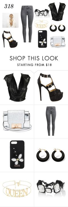 """""""Glam it up baby"""" by jazztacular on Polyvore featuring Luichiny, Henri Bendel, Palm Beach Jewelry, AMBUSH, cute and glam"""