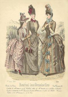 August 1887 Journal des Demoiselles