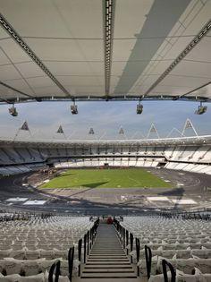 Go to http://sportsbetting.mynewsportal.net for sports betting news - London Olympic Stadium / Populous
